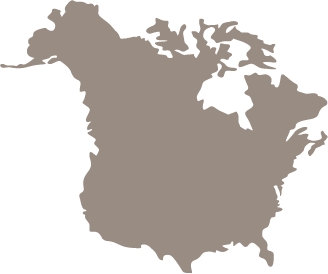 North American Continent Image