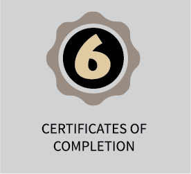 6 Certificates of Completion