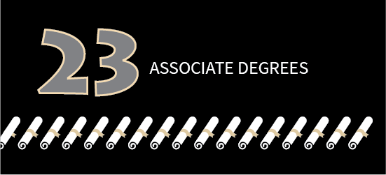 23 Associate Degrees
