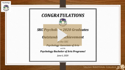 View Psychology Department Shout Out Video